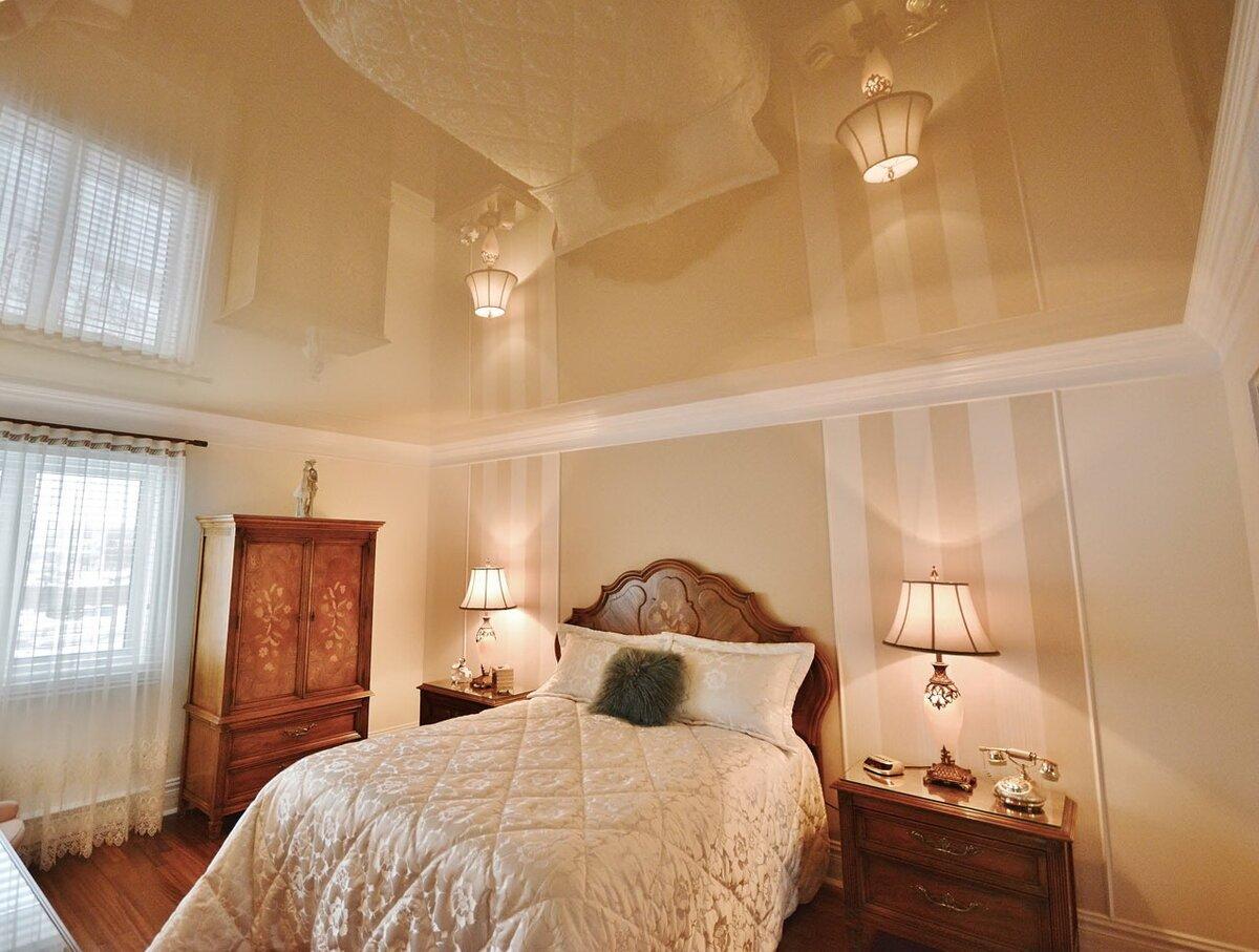 Зал спальня дизайн фото корж